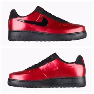 3fa46d2c48a NIKE AF1 AIR FORCE 1 FOAMPOSITE PRO CUP GYM RED-BLACK SZ 9.5  AJ3664 ...