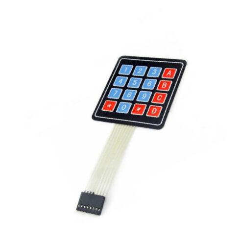 10PCS 4*4 4 x 4 Matrix Array 16 Key Membrane Switch Keypad Keyboard for Arduino