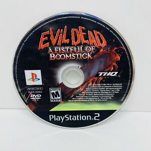 Evil Dead A Fistful Of Boom Stick PS2 Disc Only