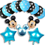 Disney-Mickey-Mouse-Birthday-Balloons-Foil-Latex-Party-Decorations-Gender-Reveal thumbnail 16