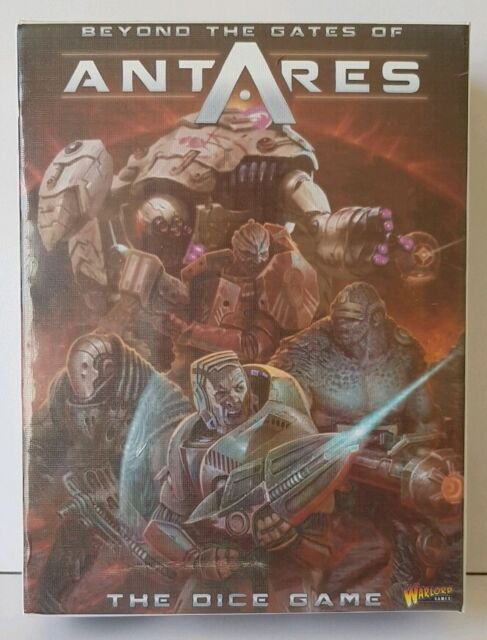 Beyond the gates of Antares the dice game box set NEW sealed Warlord games