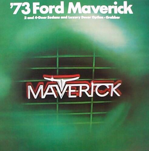 1973 Ford Maverick Sales Brochure