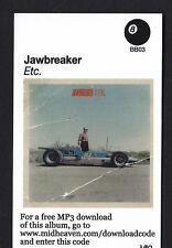 JAWBREAKER- ETC. DIGITAL DOWNLOAD CODE MP3 PUNK EMO ROCK INDIE JETS TO BRAZIL