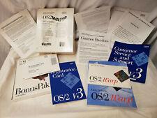 IBM OS//2 Warp Connect Version 3  Bonus Pak *NEW UNOPENED* UIC 44722403