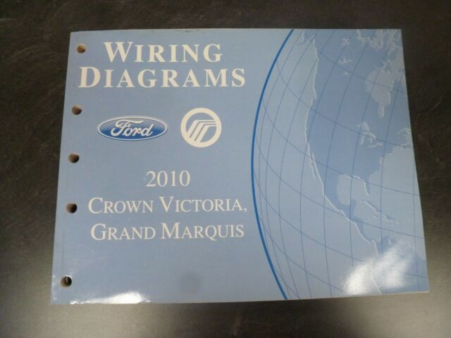 2010 Ford Crown Victoria Sedan Electrical Wiring Diagrams