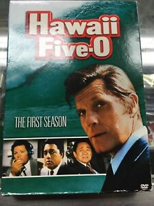 HAWAII-FIVE-O-THE-FIRST-SEASON-7-DISC-DVD-SET-SEASON-1-JACK-LORD-JAMES-MAC