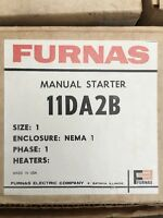 Furnas Manual Starter 11da2b Size One Enclosure 115/230v 1 1/2 / 3 Hp