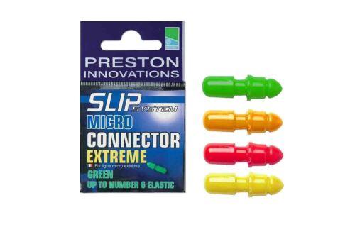 Preston Innovations Slip Système Micro Extreme Connecteur-Toutes Les Couleurs