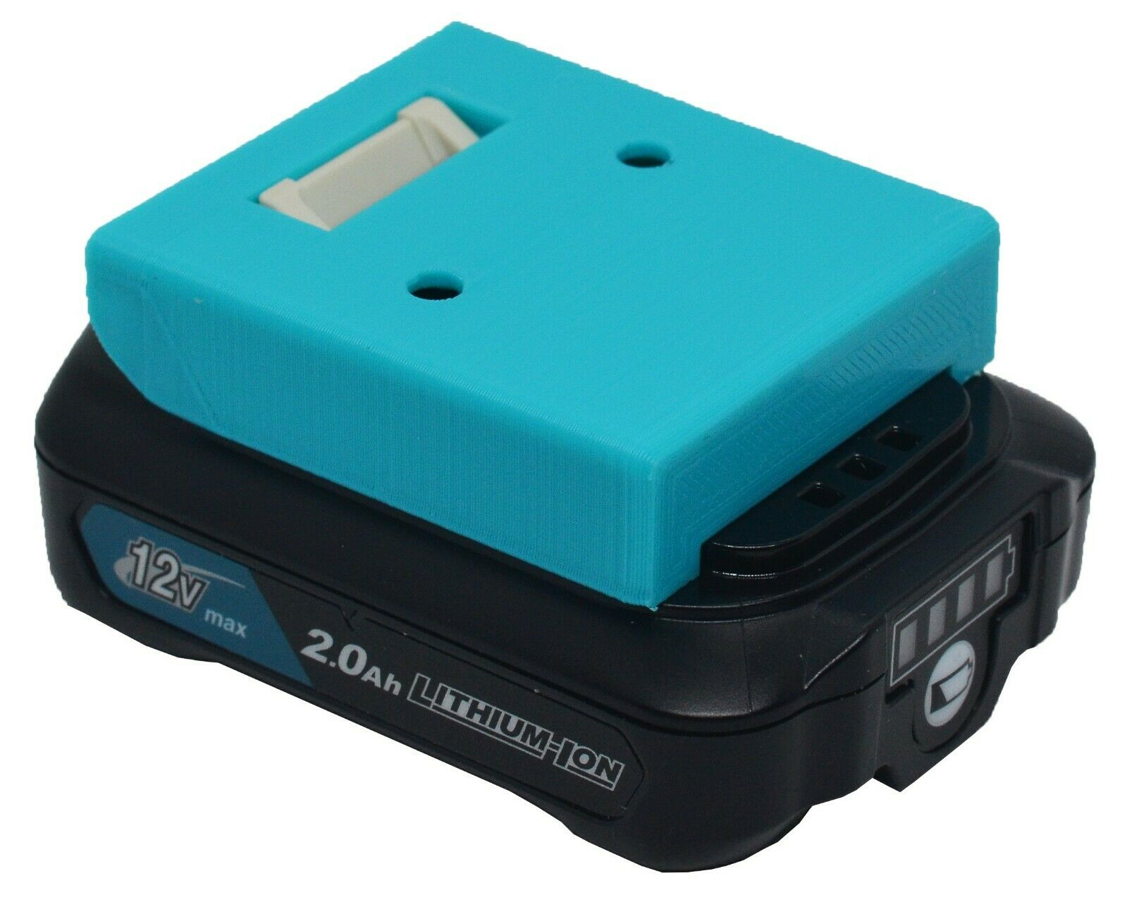 *4-Pack* Makita 12V Max CXT Battery Holder - Protective Cover - Wall Mount