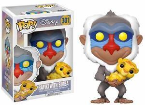 Funko-Pop-Rafiki-amp-Simba-Disney-Figura-10cm