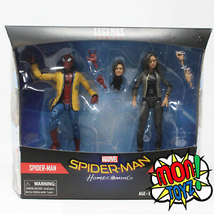 Spider-Man-and-Mary-Jane-Homecoming-2Pack-Marvel-Legends-NEW-NEW