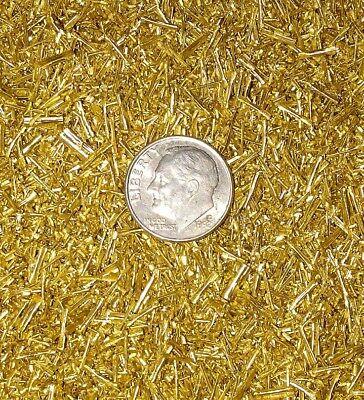 5 pounds brass chips turnings shavings machining C360 yellow brass