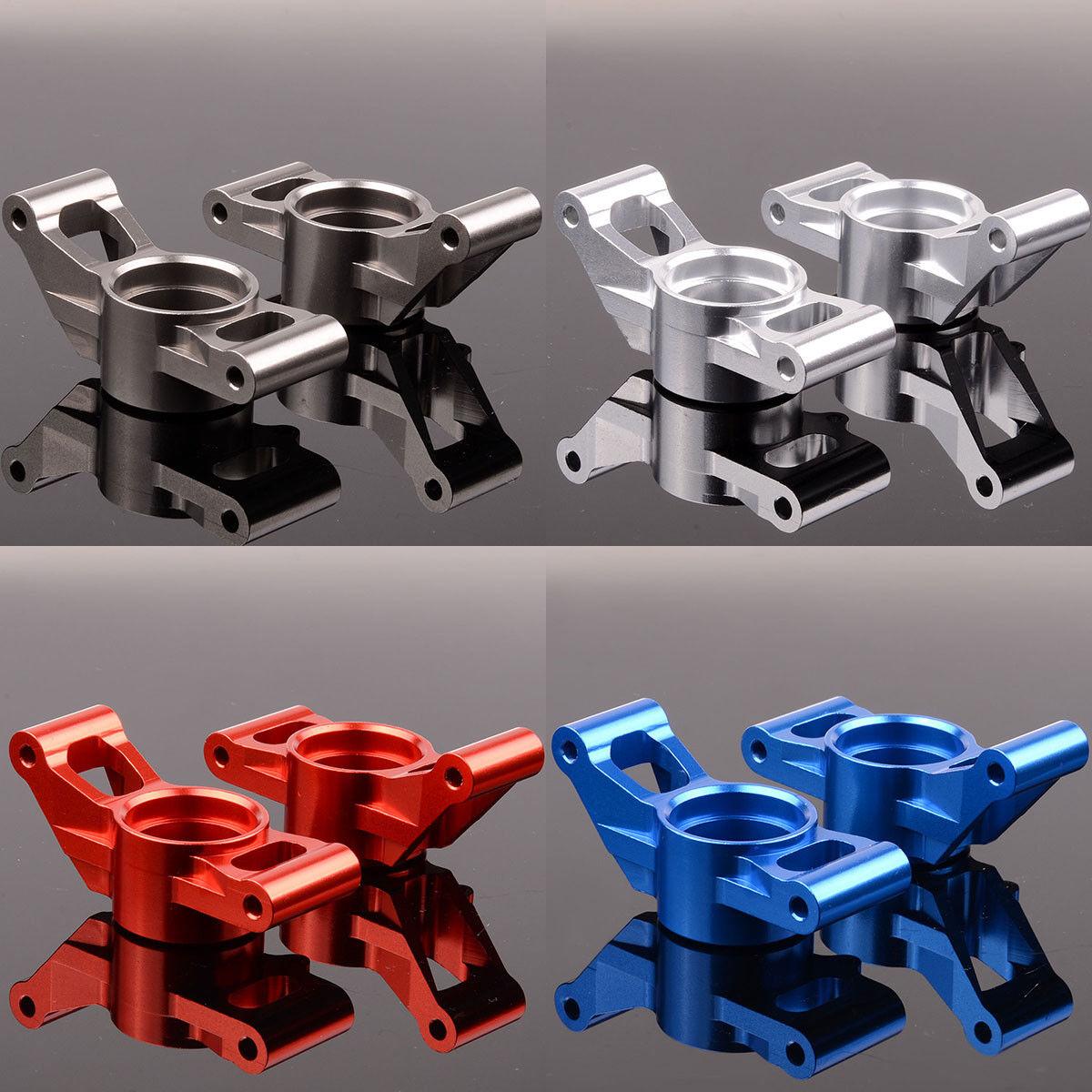 2P Aluminum Carriers, stub axle (L & R) 7752 For RC 1 5 Traxxas X-Maxx 77076-4