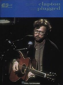 Eric clapton unplugged music book