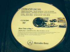 05 2007 MERCEDES C230 C240 C280 C320 MCSII NAVIGATION DVD CD MAP 2014 UPDATE