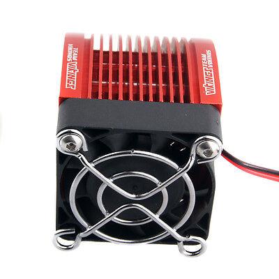 RC Engine Motor 4274 4268 1515 42mm Heat Sink DC5V Fan Cooling HSP Red Part