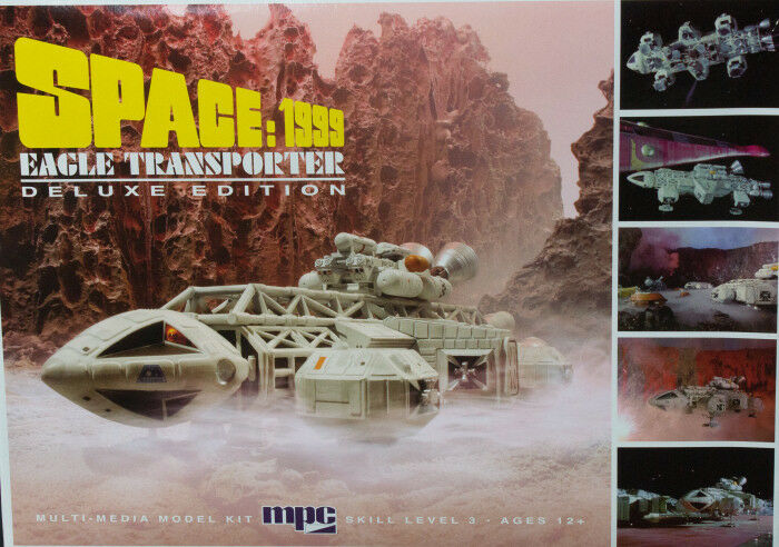 2014 MPC 816 1 72 Space 1999 Eagle Transporter Deluxe Edition model kit new in t