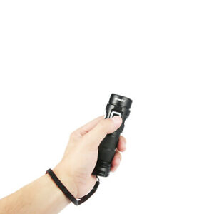 600000LM Zoomable Flashlight USB Rechargeable Waterproof LED Torch Lamp Light US