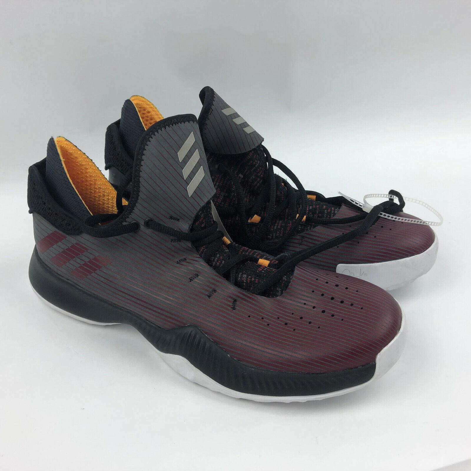 Adidas Men 10.5 Burgundy Black B96346 Pensole Harden Harden Harden B E Basketball shoes cc67dd