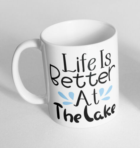Life is Better Printed Cup Ceramic Novelty Mug Funny Gift Coffee Tea 20