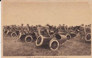 CPA-CAMP-DE-MOURMELON-SIDE-CARS-DES-UNITES-MOTORISEES