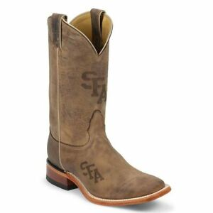 Nocona-MDSFA12-Stephen-F-Austin-State-University-Cowhide-Branded-College-Boot