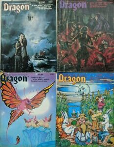 Dragon-Magazine-Role-Playing-Dungeons-and-Dragons-70-77-78-79-Fair