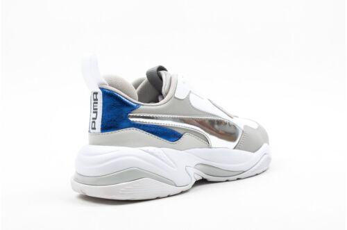 Puma Thunder Electric # 367998 02 White Gray Violet Women SZ 5 - 12
