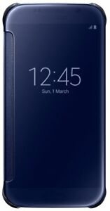 Samsung-Clear-View-Case-To-Suit-Samsung-Galaxy-S6-Blue-Black
