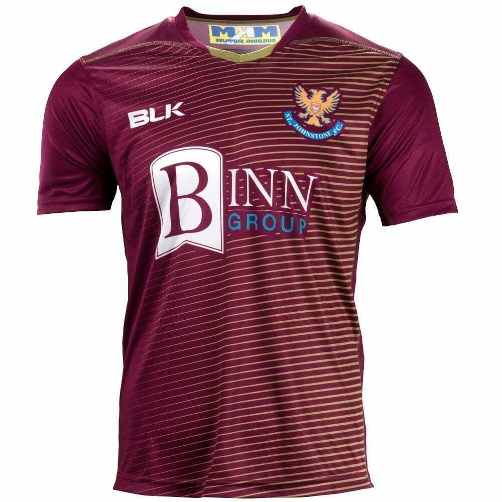 St.Johnstone FC Fußball Trikot Entfernt Perth Saints 2018-19 Sjfc 1884  | Modernes Design