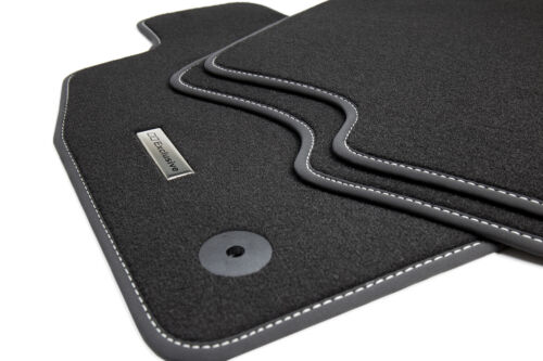 Car Mats Stainless Steel Logo for Audi A4 B8 8k Avant Combi Soda S-LINE