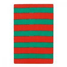 Ladies Red & Green Stripe Tights - Christmas Elf Fancy Dress - Dance Costume