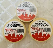 3 Painters Masking Tape 1x60 Yards Ipg Genuine Made In Usa General Purpose