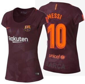 La imagen se está cargando Nike-Lionel-Messi-FC-Barcelona-MUJER-Tercera- Camiseta- 441f4d56a5a