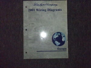 2001 Ford Escape Electrical Wiring Diagrams EWD Service ...