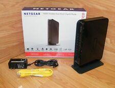 Netgear N600 300 Mbps 4-Port Gigabit Wireless N Router Bundle (WNDR3700)