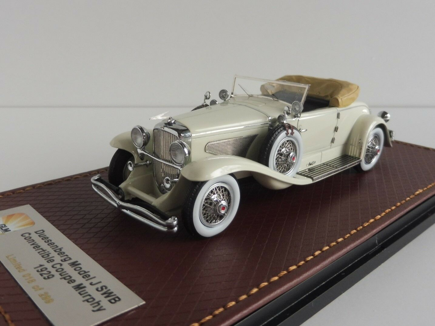 Duesenberg modelo j SWB Murphy 1929 142-2165 1 43 glm-151001 converdeible coupe
