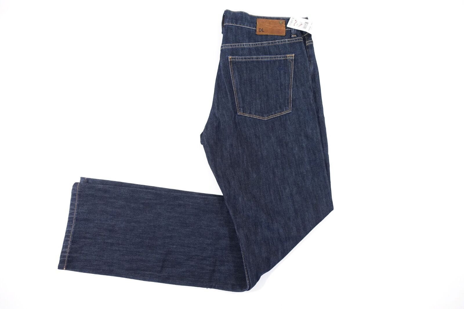 DL 1961 DARK blueE 30 VINCE 360 COMFORT STRAIGHT JEANS MENS NWT NEW