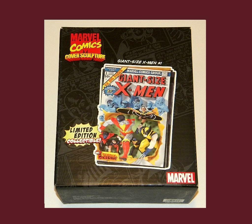 MARVEL COMICS COVER SCULPTURE GIANT-Größe X-MEN  1 BEAUTIFUL & RARE MIB