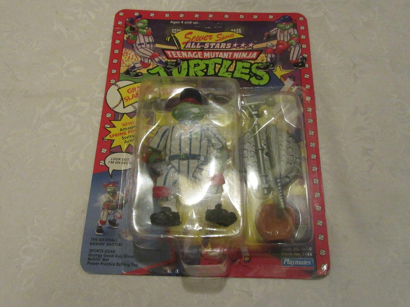 Tmnt Teenage Mutant Ninja Turtles alcantarillado Deportes All-Estrellas Grand Slammin Raph