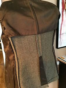 Imperial By Haggar New Khaki Herringbone Fall/Winter Sport Coat100% Wool 40R