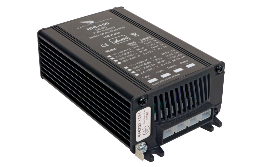 SAMLEX IDC-100D-12 DC TO DC FULLY ISOLATED CONVERTER