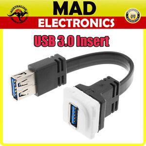 FLEXIBLE DIGITEK USB 3.0 Insert suits CLIPSAL Wall Plate Wallplate
