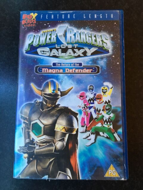 VHS - Power Rangers Lost Galaxy - The Return Of The Magma Defender (1999)