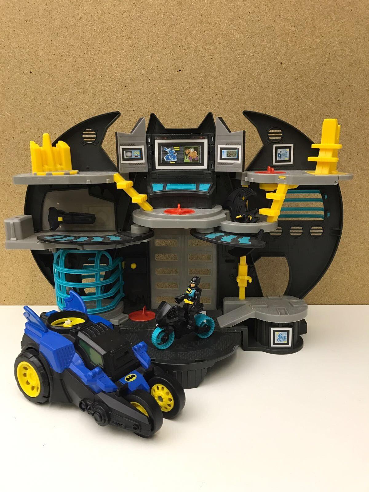 Imaginext Batman Bat Cave & Motorised Bat Mobile