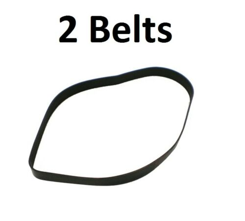 2 Bissell Model 61C5W Total Floors Pet Mylar Belts 2031730 12.8x487