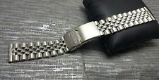 20mm seiko jubilee watch stainless steel  bracelet strap band  new