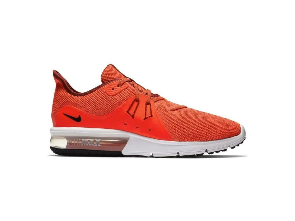 Mens NIKE AIR MAX SEQUENT 3 Team Red Trainers 921694 600