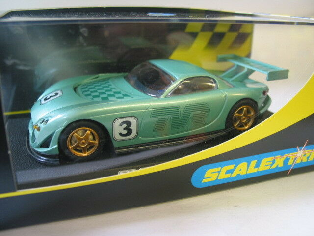 SCALEXTRIC C2247  TVR SPEED 12 GREEN COLLECTORS CENTRE EDITION   NEW BNIB