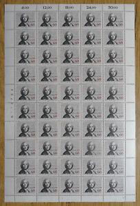 Bund-1343-postfrisch-Bogen-LUXUS-Formnummer-3-BRD-1987-Christoph-Gluck-MNH